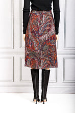 Load image into Gallery viewer, Philae A Line Paisley Skirt - Marine