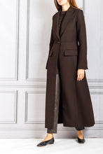 Load image into Gallery viewer, Long Single Button Blazer Coat - Umber