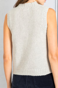 Aiden Sleeveless Pullover - Nutmeg
