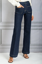 Load image into Gallery viewer, Dompay High Waist Flare Denim - Indigo