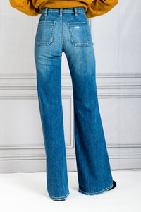 Florence Denim Jean - Classic Wash