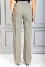Load image into Gallery viewer, Palazzu Front Pleat Tapered Pant - Beige