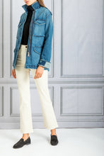 Load image into Gallery viewer, Vivian Bootcut Flare Denim Jean - Ivory
