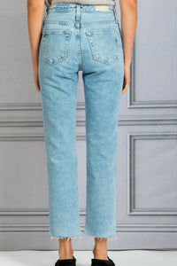 The Isabelle High Rise Denim Jean - 1992 Primer
