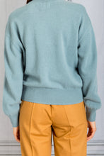 Load image into Gallery viewer, Arutua Pullover Cashmere Sweater - Celadon