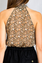 Load image into Gallery viewer, Tie Neck Halter Top - Multi Floral