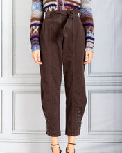 Load image into Gallery viewer, Carmen Tapered Leg Denim Jean - Umber