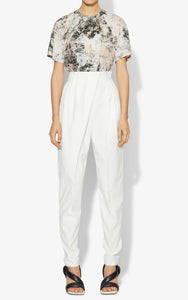 Proenza Schouler Bow back tissue weight top