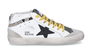 Mid Star High Top Sneak with Snake Insert