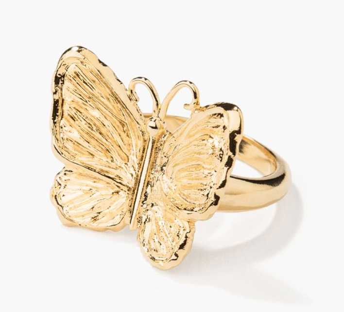 Notte Papillon Butterfly Ring