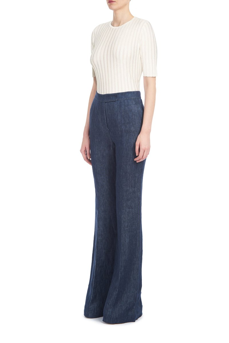 Gabriela Hearst Milandes Ribbed Tee