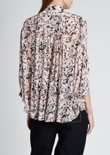 Load image into Gallery viewer, Proenza Schouler Animal Crepe Chiffon Blouse