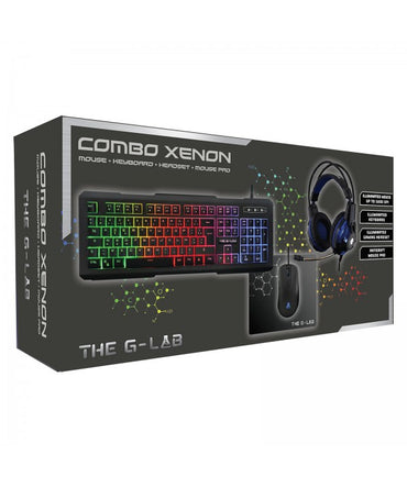 The G-Lab COMBO Xenon - Pack clavier souris The G-Lab