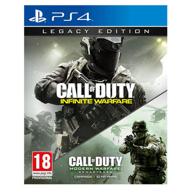 COD infinite warfare + Modern WAREFARE ps4 cd