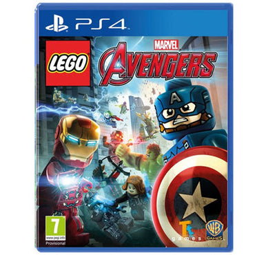 Lego Marvel Avengers cd ps4