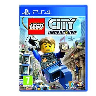 Lego City Undercover cd ps4