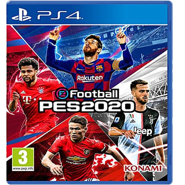 Konami Pro Evolution Soccer (PES) 2020 - PS4