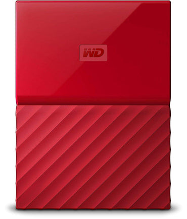 WD - My Passport - Disque dur externe portable USB 3.0 - 3To, Rouge
