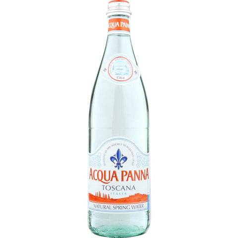 ACQUA PANNA: Panna Water 750 ml Glass, 25.36 fl oz