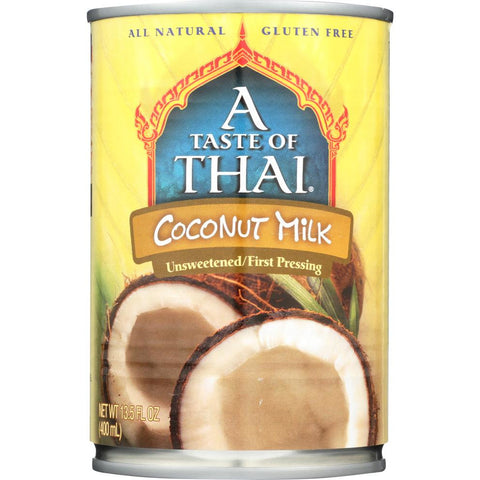 A TASTE OF THAI: Coconut Milk, 13.5 oz