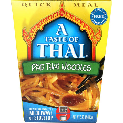 A TASTE OF THAI: Quick Meal Pad Thai Noodles, 5.75 oz