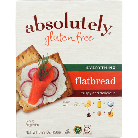 ABSOLUTELY GLUTEN FREE: Flatbread Everything, 5.29 oz