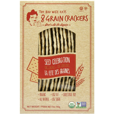 8GRAIN: Seed Celebration Crackers, 5 oz