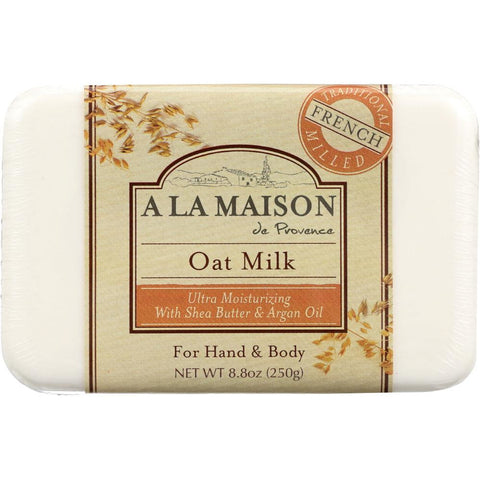 A LA MAISON: Bar Soap Oat Milk, 8 oz