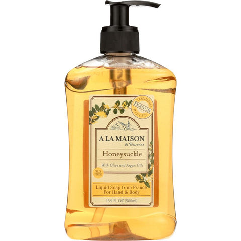 A LA MAISON: Liquid Soap Honeysuckle, 16.9 oz