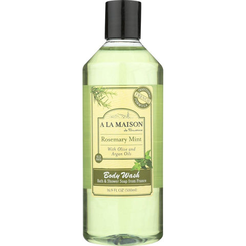 A LA MAISON: Rosemary Mint Body Wash, 16.9 fl oz