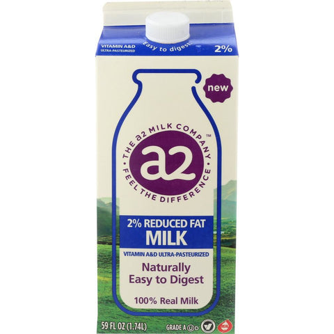 A2 MILK: Milk 2 Percent, 59 fl oz