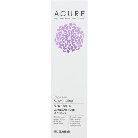 ACURE: Radically Rejuvenating Facial Scrub, 4 fl oz