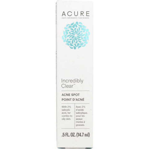 ACURE: Incredibly Clear Acne Spot, 0.5 fl oz