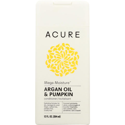 ACURE: Mega Moisture Conditioner Argan Oil & Pumpkin, 12 fl oz