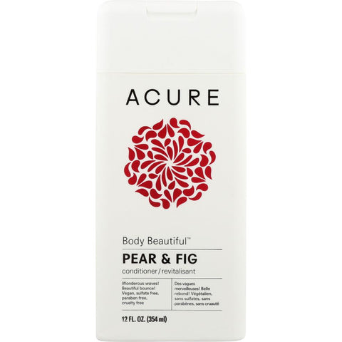 ACURE: Body Beautiful Conditioner Pear & Fig, 12 fl oz