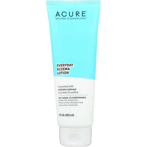 ACURE: Everyday Eczema Unscented Lotion, 8 fl oz