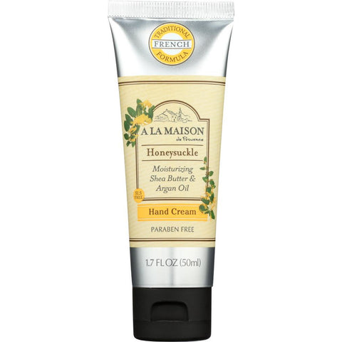 A LA MAISON DE PROVENCE: Hand Cream Honeysuckle, 1.7 oz