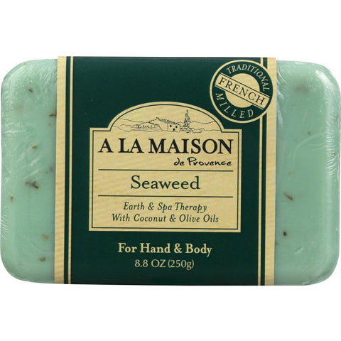A LA MAISON: Soap Bar Earth SPA Seaweed, 8.8 oz