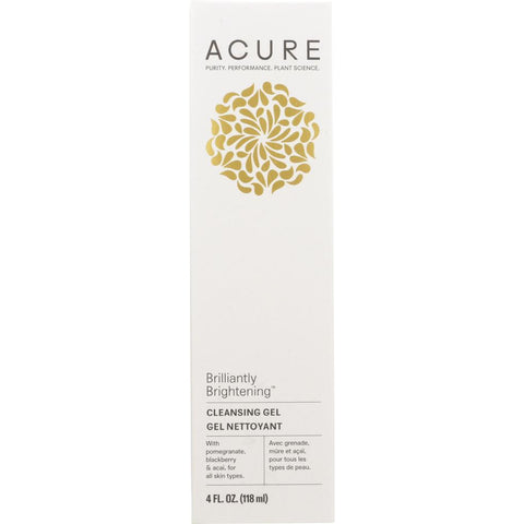 ACURE: Brilliantly Brightening Cleansing Gel, 4 fl oz