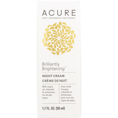 ACURE: Brilliantly Brightening Night Cream, 1.7 oz