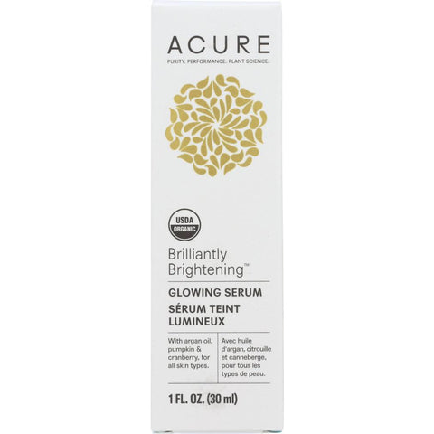 ACURE: Brilliantly Brightening Glowing Serum, 1 fl oz