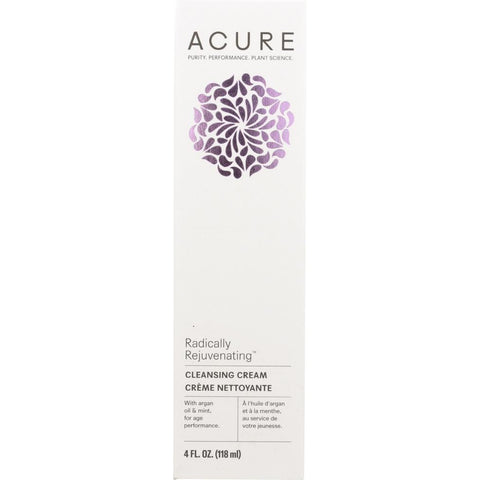 ACURE: Radically Rejuvenating Cleansing Cream, 4 fl oz