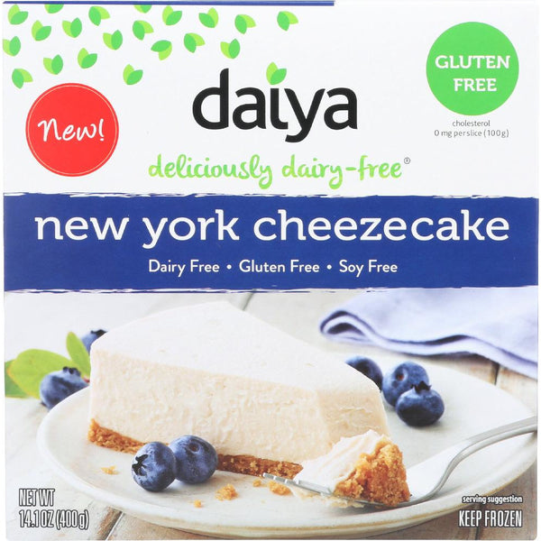 DAIYA: Cheesecake New York Style Dairy Gluten And Soy Free, 14.1 oz