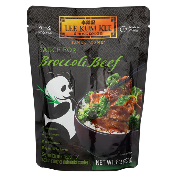 Lee Kum Kee Sauce - Ready To Serve - Broccoli Beef - 8 Oz - Case Of 6