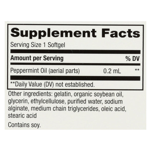 Nature's Way - Pepogest Peppermint Oil - 60 Softgels