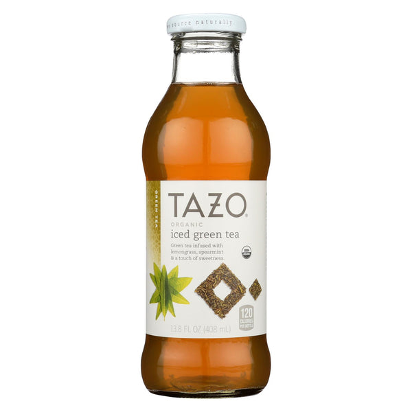 Tazo Tea Organic Bottled Iced Tea - Green Tea - Case Of 12 - 13.8 Fl Oz
