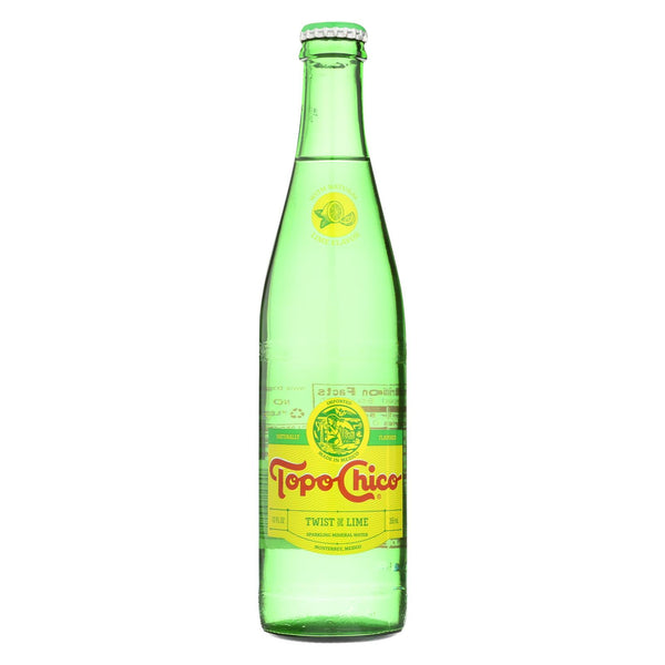 Topo Chico Water - Mineral - Lime - Case Of 24 - 12 Fl Oz