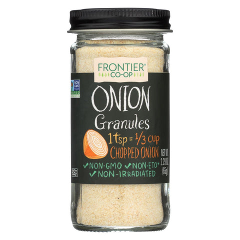 Frontier Herb Onion - Granules - White - 2.29 Oz