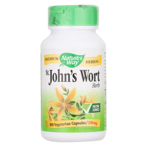 Nature's Way - St John's Wort Herb - 100 Capsules