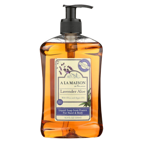 A La Maison - French Liquid Soap - Lavender Aloe - 16.9 Fl Oz